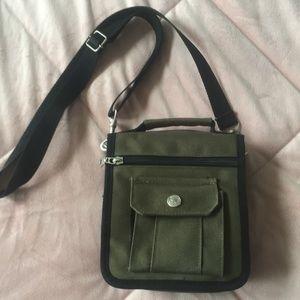 Handbags - NWOT Olive green satchel